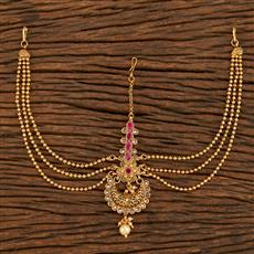 207889 Antique Chand Damini With Gold Plating