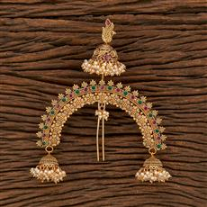 207921 Antique Classic Hair Brooch With Gold Plating