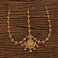 207948 Antique Chand Damini With Gold Plating