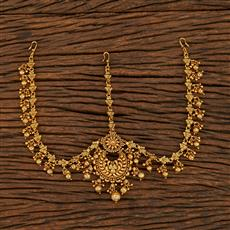 207949 Antique Chand Damini With Gold Plating