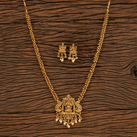 208000 Antique Temple Pendant Set With Gold Plating