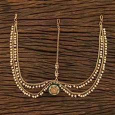 208037 Antique Bore Damini With Gold Plating