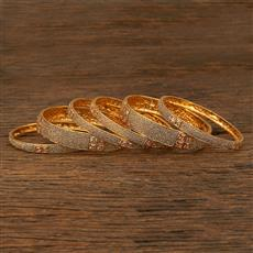 208061 Antique Classic Bangles With Gold Plating