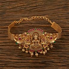 208096 Antique Temple Baju Band With Matte Gold Plating