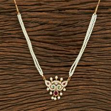 208102 Antique Peacock Pendant Set With Gold Plating