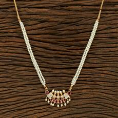 208104 Antique Delicate Pendant Set With Gold Plating