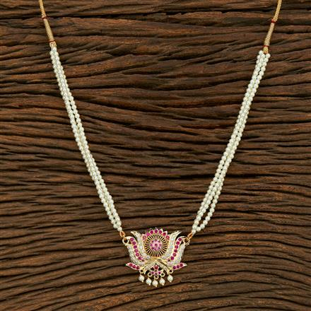 208107 Antique Delicate Pendant Set With Gold Plating