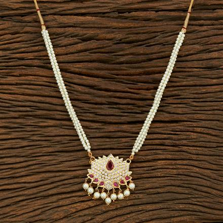 208109 Antique Delicate Pendant Set With Gold Plating