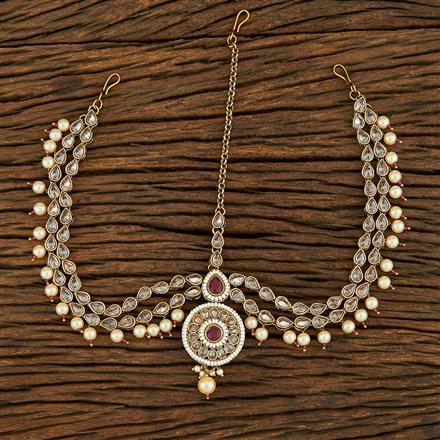 208229 Antique Classic Damini With Mehndi Plating
