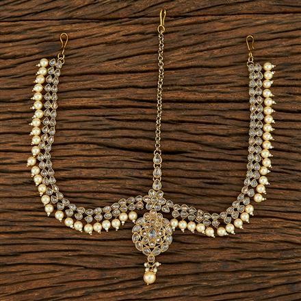 208234 Antique Classic Damini With Mehndi Plating