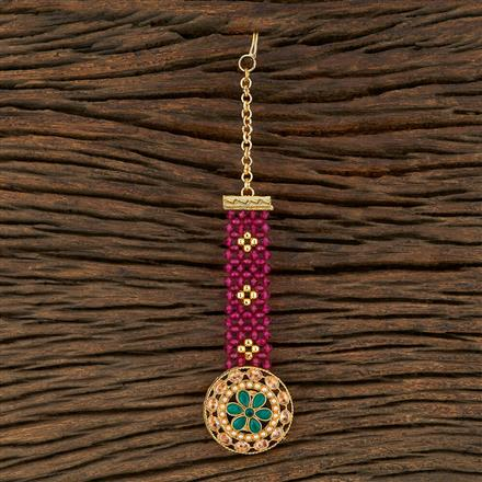 208246 Antique Classic Tikka With Gold Plating