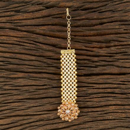 208248 Antique Classic Tikka With Gold Plating
