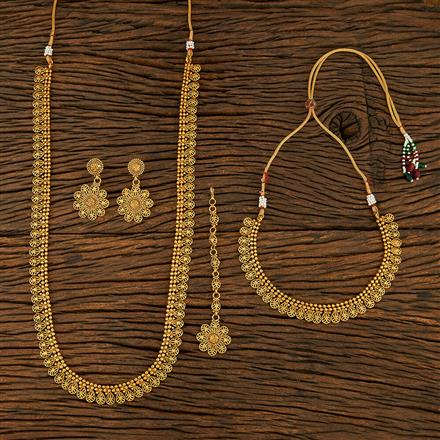 208270 Antique Combo Necklace Sets With Gold Plating