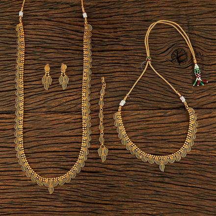 208272 Antique Combo Necklace Sets With Gold Plating