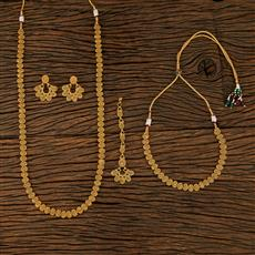 208273 Antique Combo Necklace Sets With Gold Plating