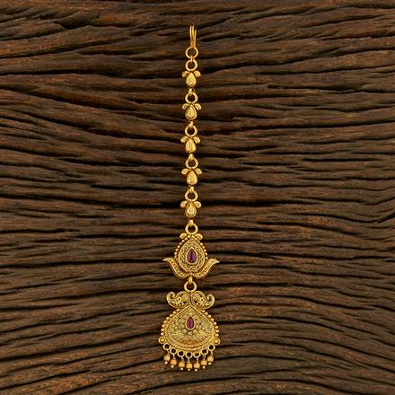 208298 Antique Classic Tikka With Gold Plating