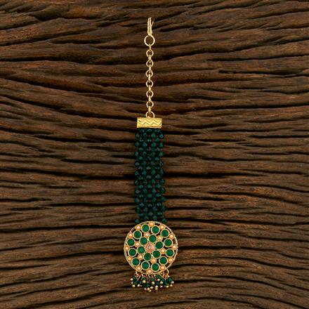 208317 Antique Classic Tikka With Gold Plating