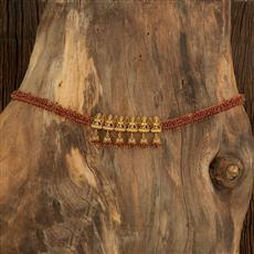 208338 Antique South Indian Belt With Gold Plating