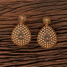 208413 Antique Classic Earring With Gold Plating