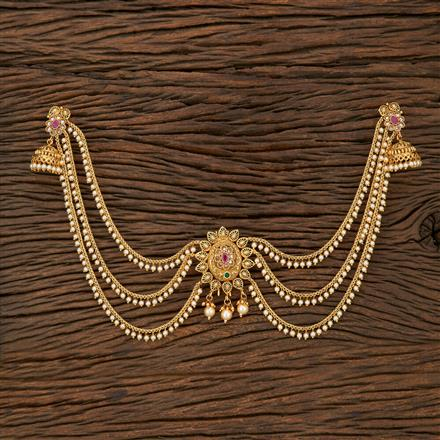 208432 Antique Classic Hair Clips With Gold Plating