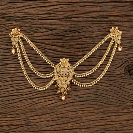 208433 Antique Classic Hair Clips With Gold Plating
