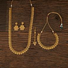 208472 Antique Combo Necklace Sets With Gold Plating