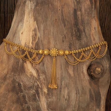 208476 Antique Plain Kamar Patta With Gold Plating
