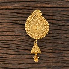 208605 Antique Plain Brooch With Gold Plating