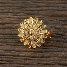 208642 Antique Delicate Ring With Gold Plating