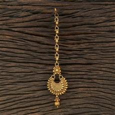 208711 Antique Chand Tikka With Gold Plating