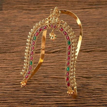 21017 Antique Temple Baju Band with gold plating
