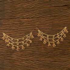 21059 Antique Classic Ear Chain with gold plating