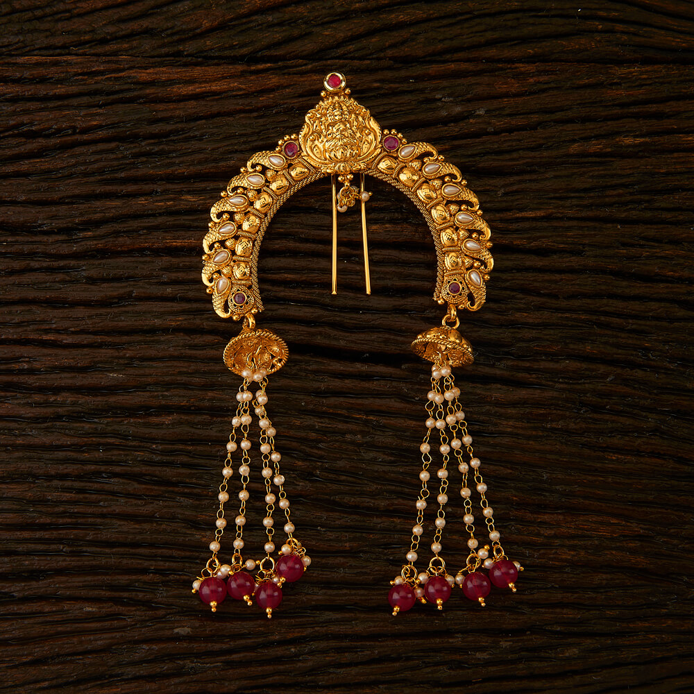 Purchase 21991 Antique Classic Hair Brooch With Gold Plating Online