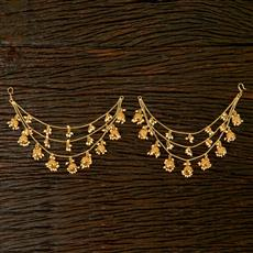 22363 Antique Classic Ear Chain with gold plating