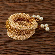 22833 Antique Adjustable Bracelet with gold plating