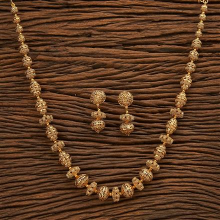 23302 Antique Mala Necklace with gold plating