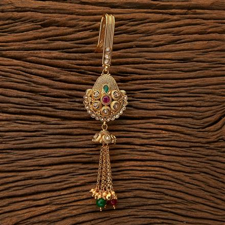 23962 Antique Delicate Jhuda with gold plating