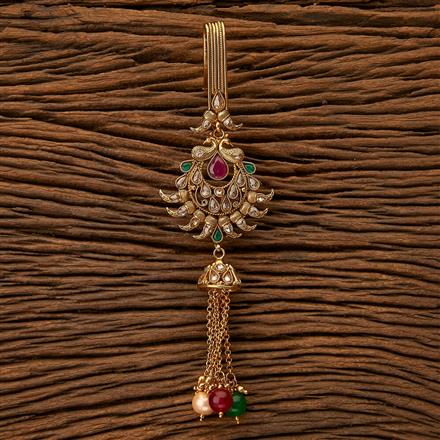23965 Antique Delicate Jhuda with gold plating