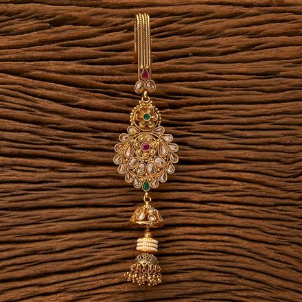 23968 Antique Delicate Jhuda with gold plating