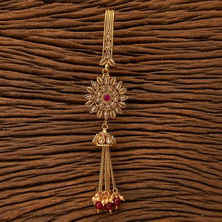 23969 Antique Delicate Jhuda with gold plating