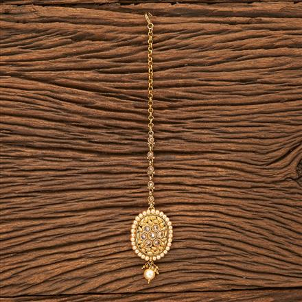 24080 Antique Classic Tikka with gold plating