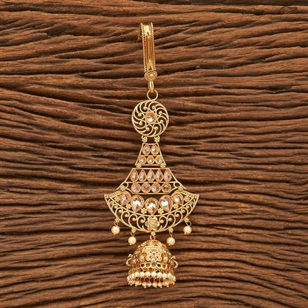 24100 Antique Delicate Jhuda with gold plating