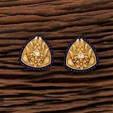 301043 Kundan Tops With Gold Plating