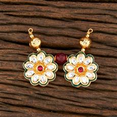 301058 Kundan Classic Mangalsutra With Gold Plating