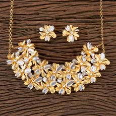 350327 Designer Classic Necklace with Gold Plating