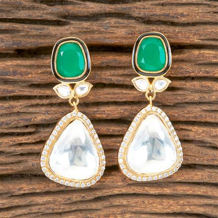 350368 Designer Classic Earring with Gold Plating