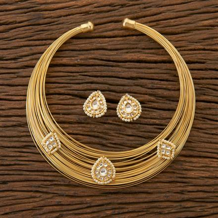 350412 Designer Classic Necklace With Gold Plating