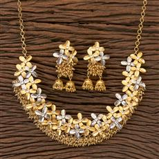 350413 Designer Classic Necklace With Gold Plating