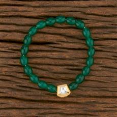 350671 Kundan Delicate Bracelet With Gold Plating