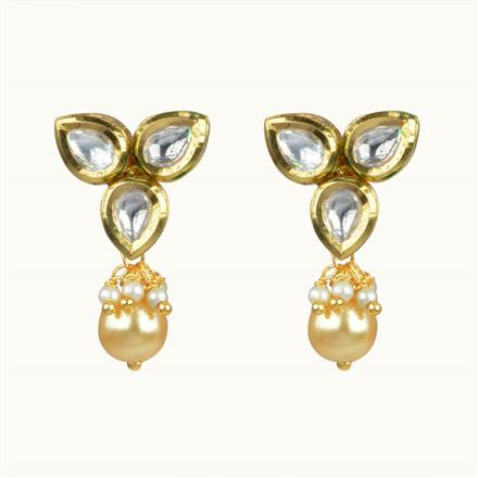 40067 Kundan Tops with gold plating